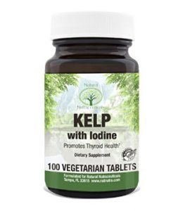 Seaweed (Kelp) Iodine Supplement- support thyroid health