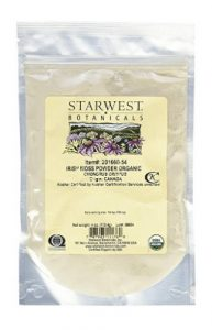 organic irish moss powder by starwest