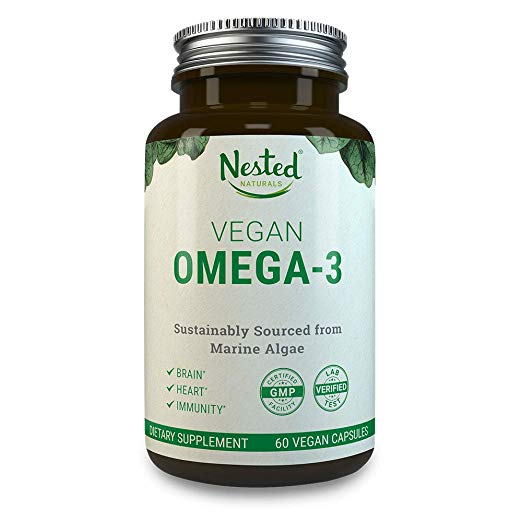 vegan DNA from algae omega 3