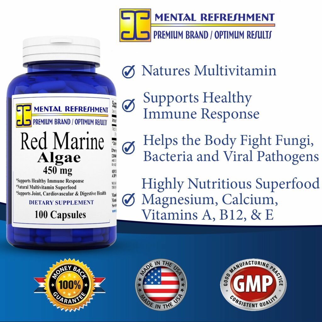 Red Algae Supplements - A Real Source of Multivitamins